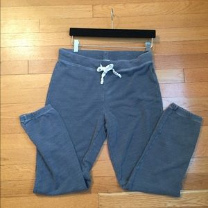 J crew jogger sweatpants faded gray size xs